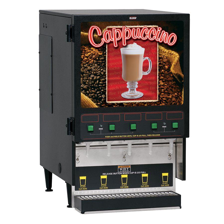 Bunn FMD Cappuccino / Hot Chocolate Dispensers