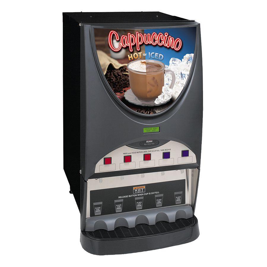 Bunn iMIX® Cappuccino / Hot Chocolate Dispensers