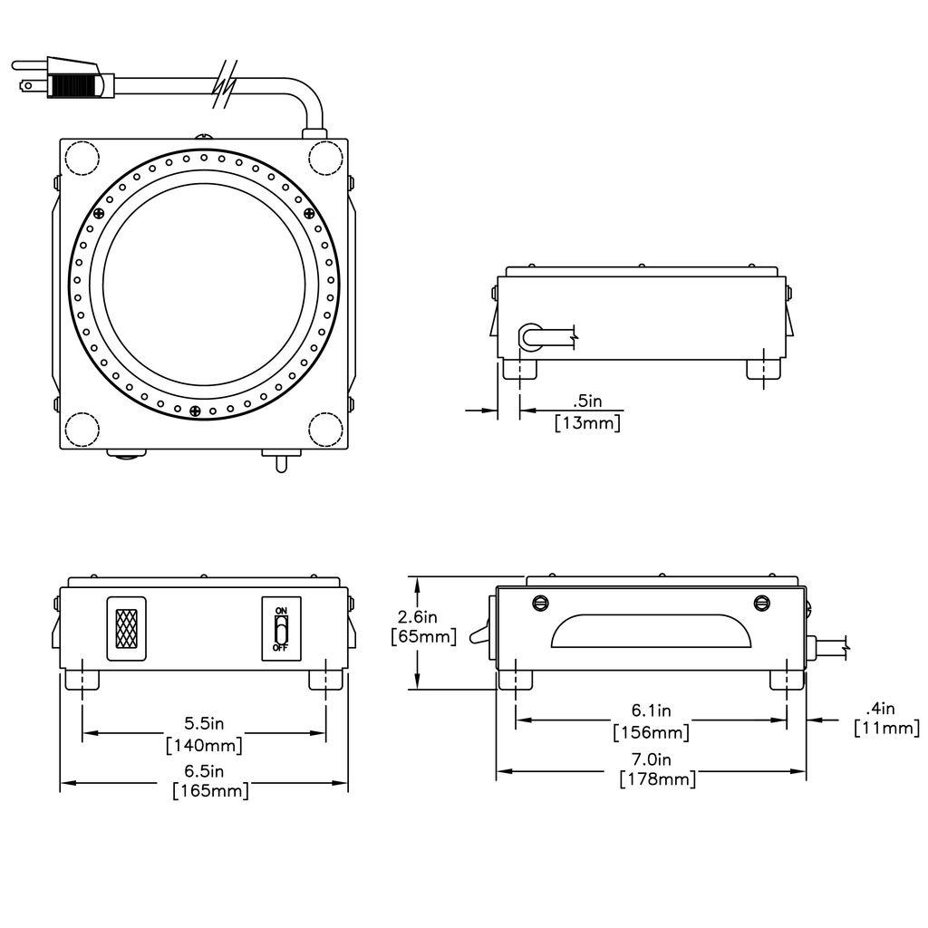 Bunn WX1 Warmer 1 Position Coffee Warmer