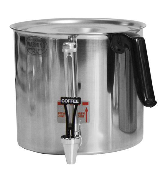 Newco Newtap 1 Gallon Dispenser, Brown / Coffee Handle