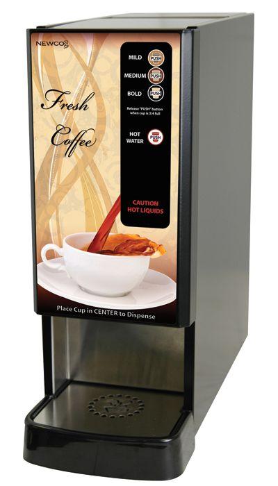 Newco LCD-1 Liquid Coffee Dispenser, 1 Selection, Hot