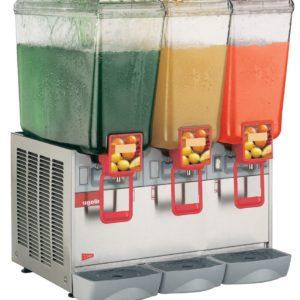 Cecilware 20/3PD Arctic Deluxe Three Bowl Premix Cold Beverage Dispenser