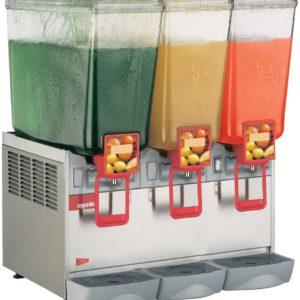 Cecilware 20/3PE Arctic Economy Three Bowl Premix Cold Beverage Dispenser