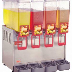 Cecilware 20/4PD Arctic Deluxe Four Bowl Premix Cold Beverage Dispenser
