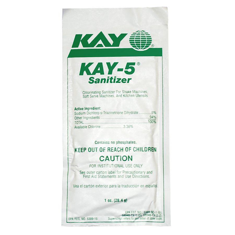 Bunn SANITIZER,KAY-5(BOX-50 PKTS)