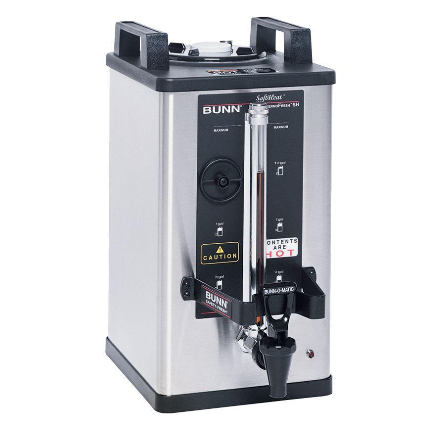 Bunn 1.5Gal(5.7L) Stainless Steel 240MIN SH Soft Heat® Portable Server