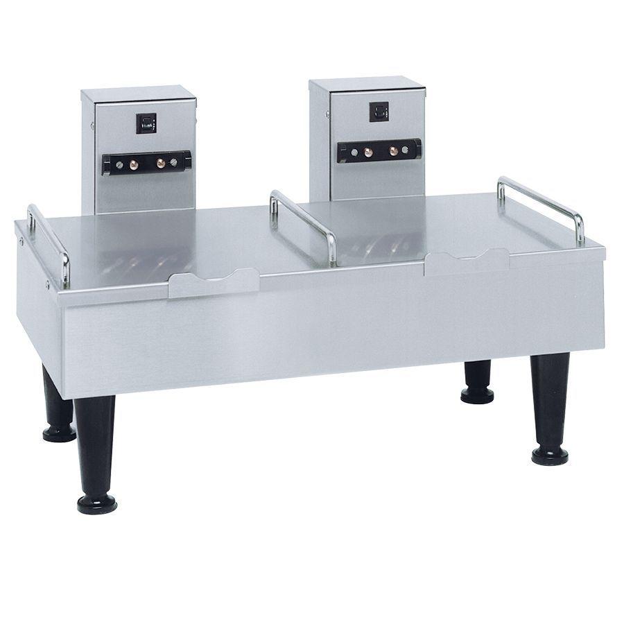 Bunn 2SH Soft Heat Stand Stainless Steel 2 Soft Heat® Portable Server Docking System