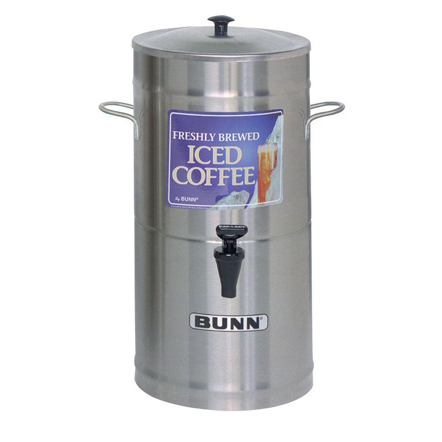 Bunn ICD-3 Dispenser w/Solid Lid 3Gal (11.4L) Cylinder Style Iced Tea & Coffee Dispenser