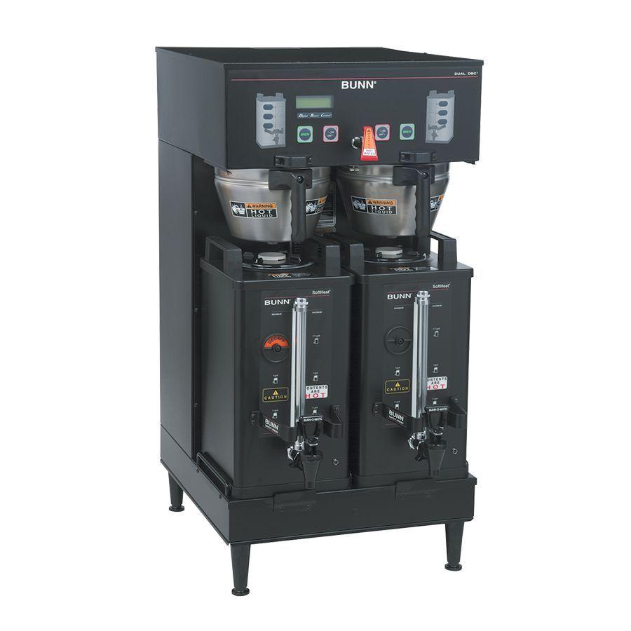 Bunn DUAL SH DBC BLK Dual BrewWISE®  Soft Heat® DBC® Brewer