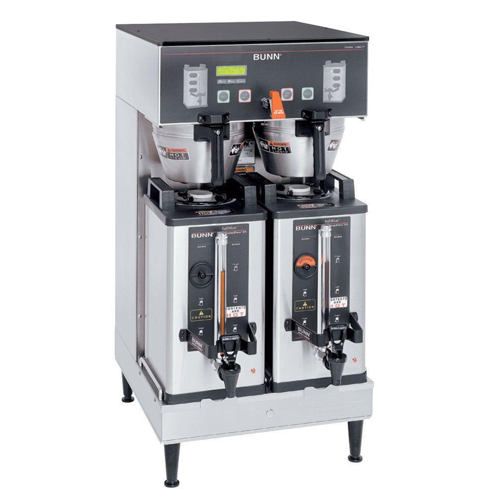 Bunn DUAL SH DBC SST Dual BrewWISE®  Soft Heat® DBC® Brewer