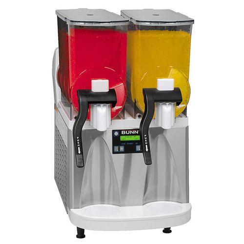 Bunn Ultra-2 HP Manual Fill Ultra™ Frozen Beverage System w/2 Hoppers & Flat Lid