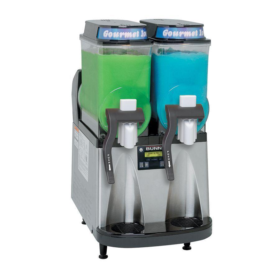 Bunn Ultra-2 CFV Liquid Autofill Ultra™ Frozen Beverage System w/2 Hoppers Internal Brixing