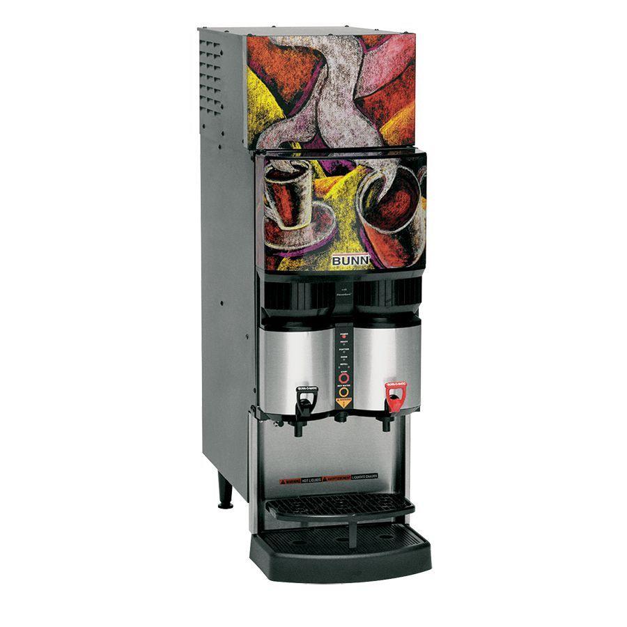 Bunn LCR-2 (w/LiquidBox QC/DII) 2 Product Liquid Coffee with Refrigerated Dispense