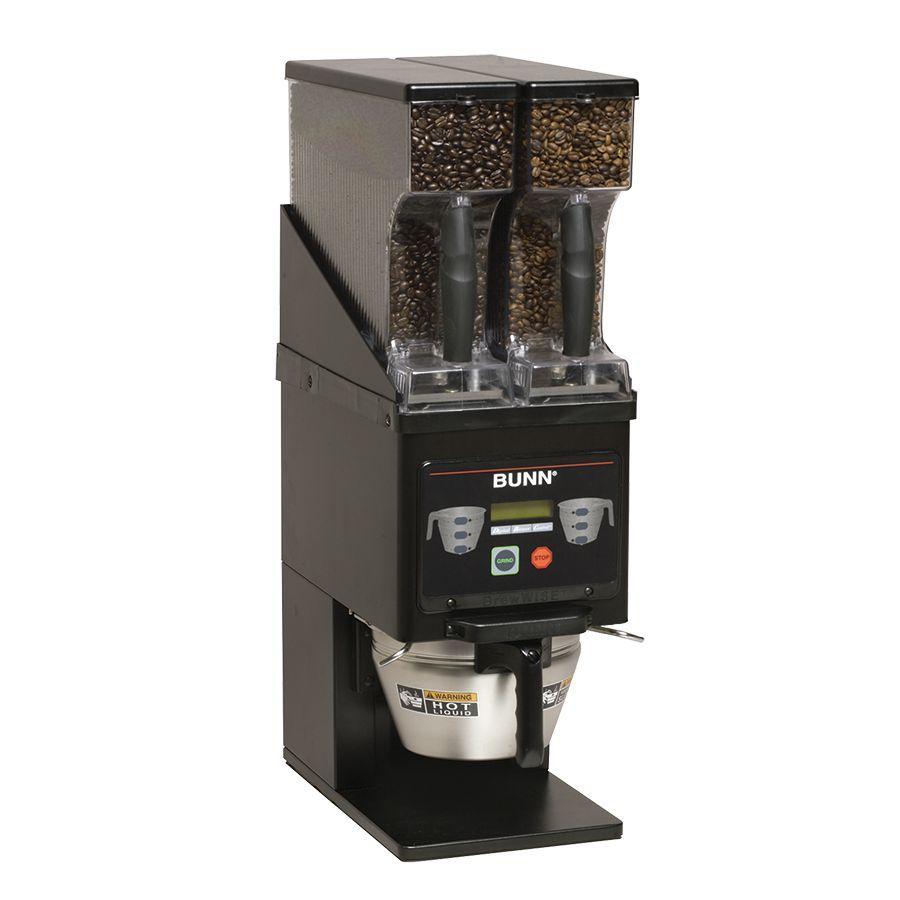 Bunn MHG BLK (60Hz) Multi-Hopper Coffee Grinder & Storage System