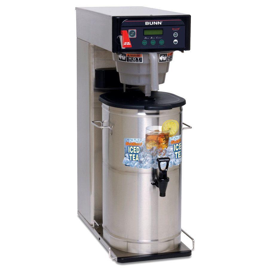 Bunn ITCB-DV-DBC Infusion Series® BrewWISE® DBC® Dual Voltage Tea & Coffee Brewer