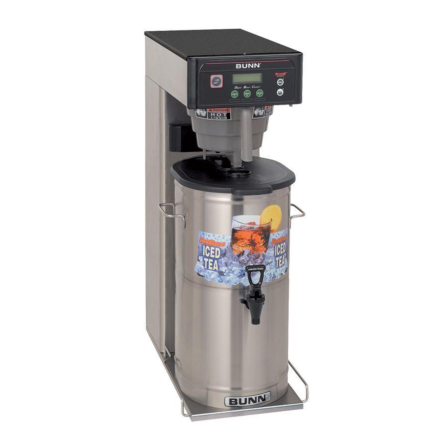 Bunn ITCB-DV-DBC (short) Infusion Series® BrewWISE® DBC® Dual Voltage Tea & Coffee Brewer