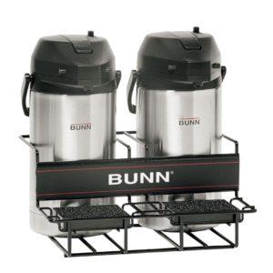 Bunn UNIV-2 APR Universal Airpot Rack Holds Up To 2 Portable Airpots
