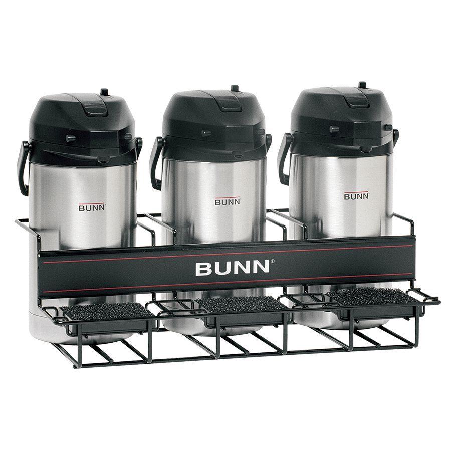 Bunn UNIV-3 APR Universal Airpot Rack Holds Up To 3 Portable Airpots