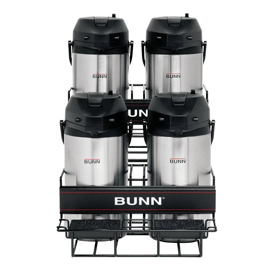 Bunn UNIV-4 APR Universal Airpot Rack Holds Up To 4 Portable Airpots