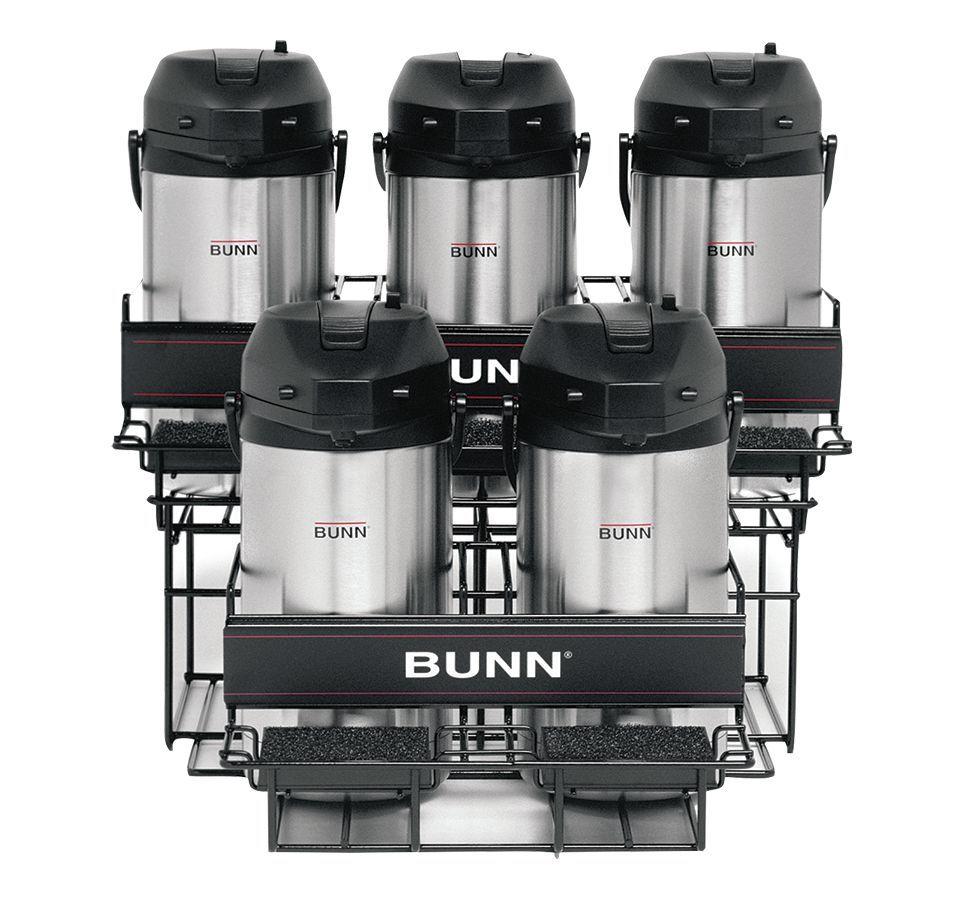 Bunn UNIV-5 APR Universal Airpot Rack Holds Up To 5 Portable Airpots
