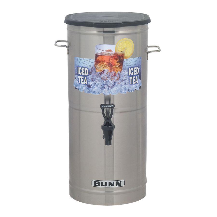 Bunn TCD-1 w/1 Nozzle & Solid Lid Tea Concentrate Dispenser