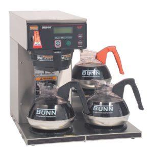 Bunn AXIOM-15-3 (3 Lower Warmers) AXIOM® 12 Cup Automatic Coffee Brewer with 3 Warmers
