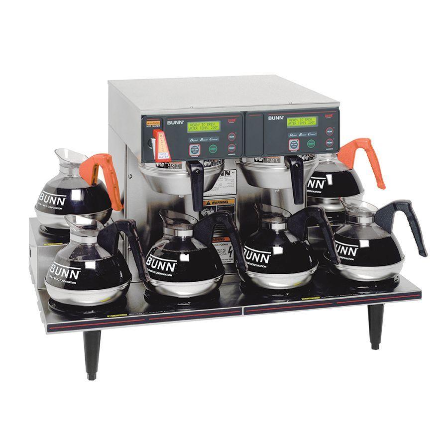 Bunn AXIOM 0/6 TWIN (6 Lower Warmers) AXIOM® 12 Cup Automatic Coffee Brewer with 6 Warmers