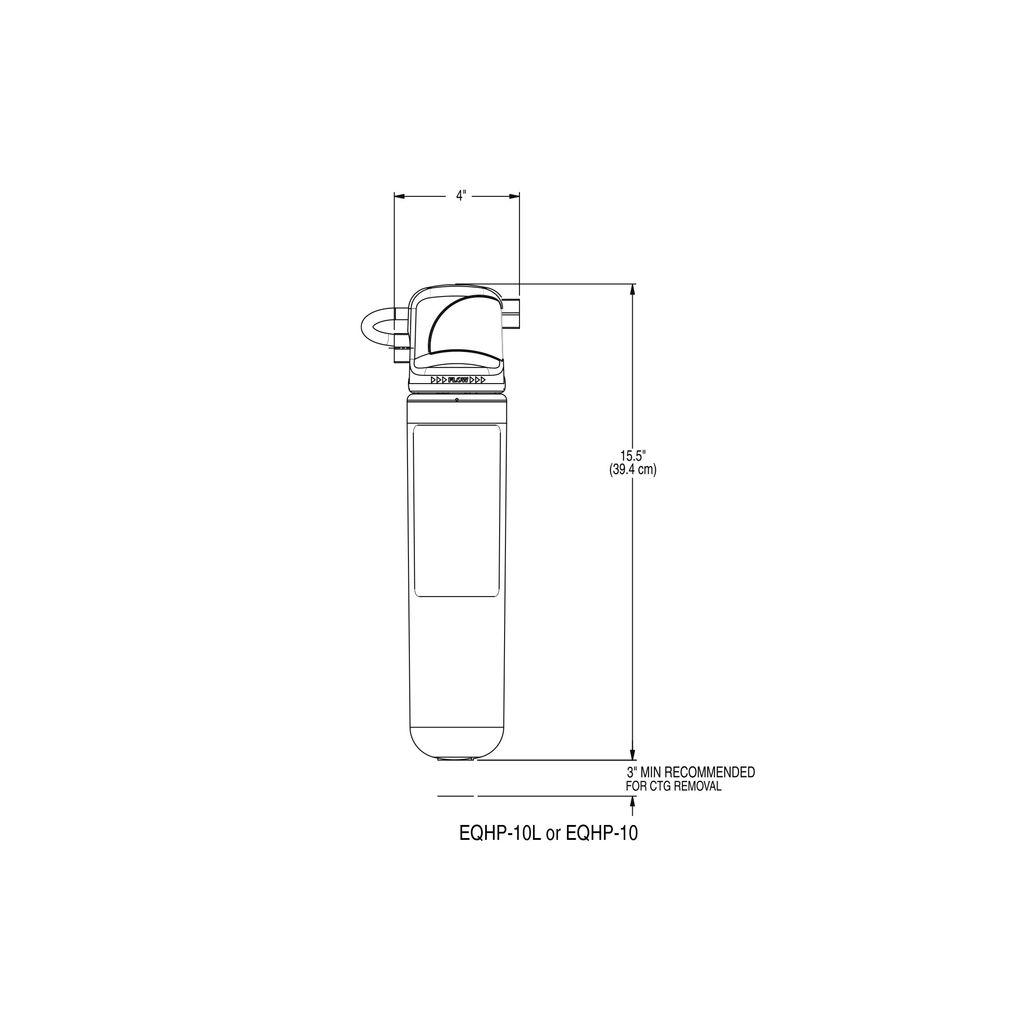 Bunn EQHP-10 Water Filter System