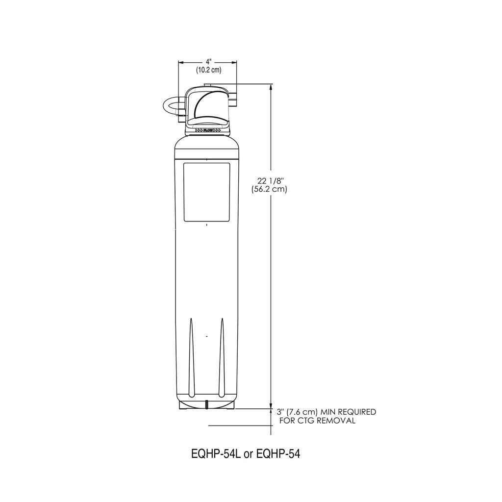 Bunn EQHP-54 Water Filter System