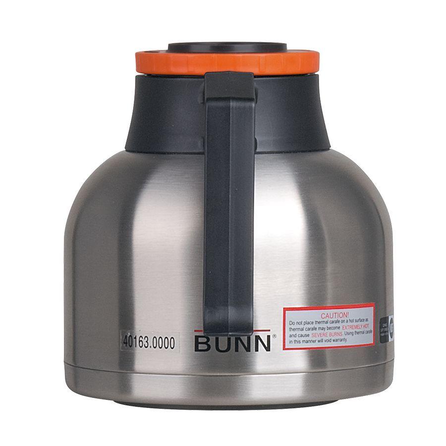 Bunn 64oz (1.9L) Thermal Carafe Portable Server, Orange - 12-pack