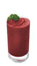 Corim Black Cherry Frozen Chillers Granita Mix, 2 lb Bags, Case Of 6
