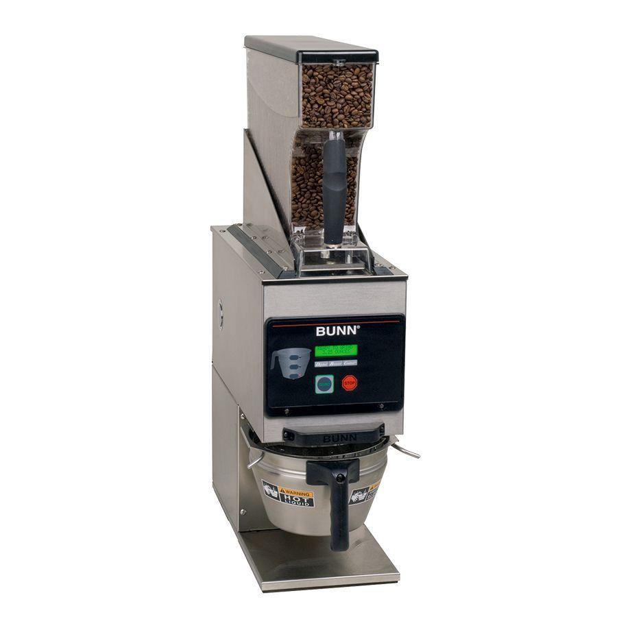 Bunn G9WD-RH SST Weight Driven Coffee Grinder with Single Hopper