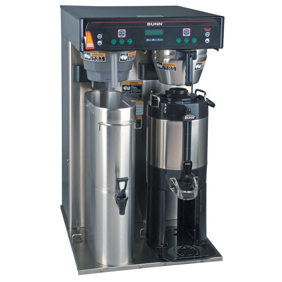 Bunn ITCB-TWIN-HV Twin Infusion Series® High Vol BrewWISE® DBC® Volt Tea&Coffee Brewer