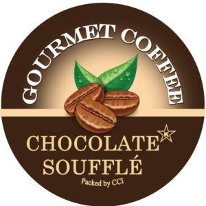 Corim Chocolate Soufflé Flavored Coffee Single Serve Kups, Case Of 72