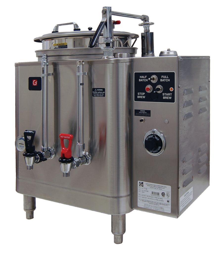 Grindmaster 7413E 3 Gallon Midline Heat Exchange Urn Coffee Brewer