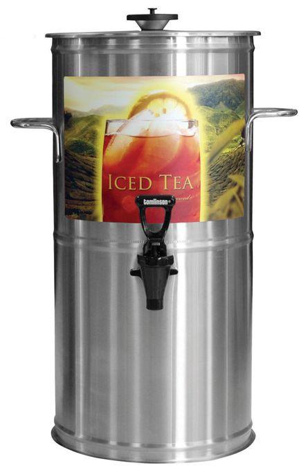 Newco 3 Gallon Round Iced Tea Dispenser