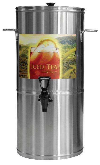 Newco 5 Gallon Round Iced Tea Dispenser