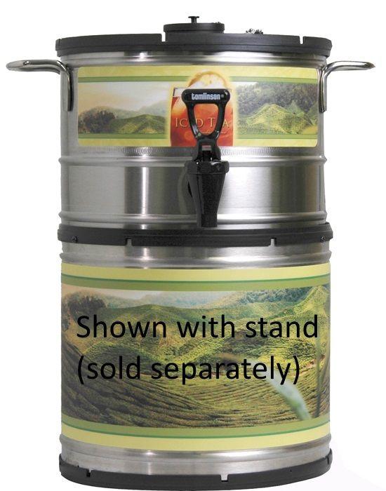 Newco 1.5 Gallon Stackable Round Iced Tea Dispenser