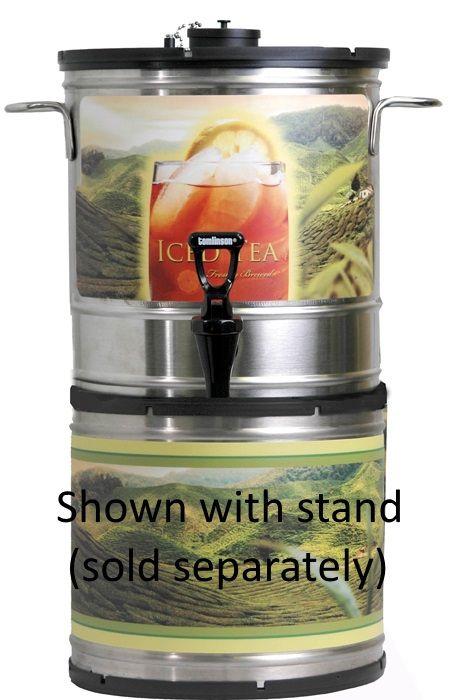 Newco 3 Gallon Stackable Round Iced Tea Dispenser