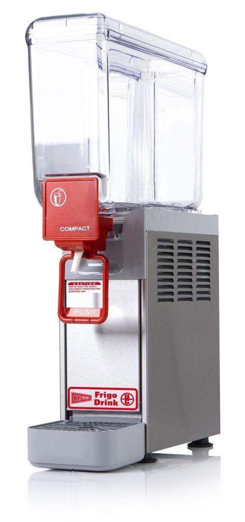 Cecilware 8/1 Arctic Slow Agitation One Bowl Premix Cold Beverage Dispenser