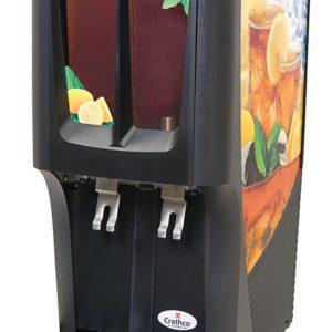 Crathco G-Cool C-2S-16, Mini-Duo Two Bowl Premix Cold Beverage Dispenser