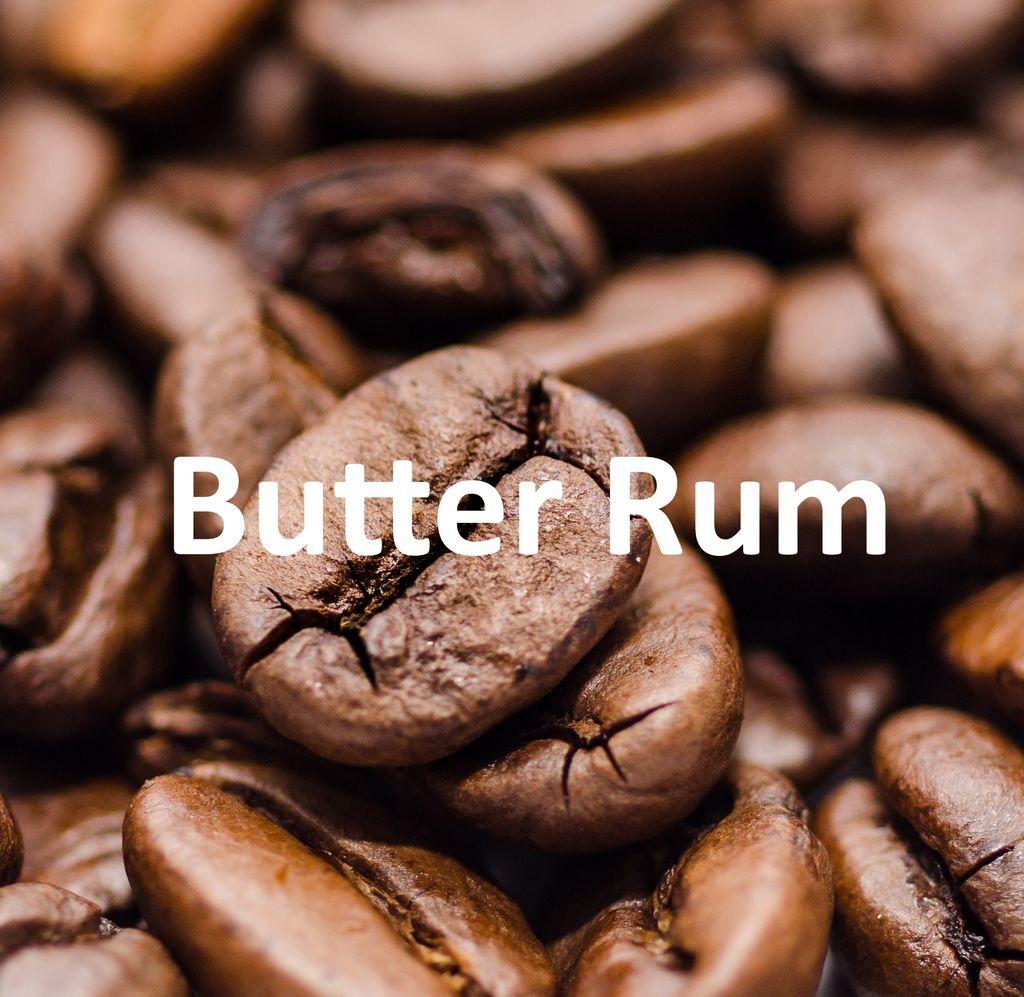 Corim Butter Rum Flavored Whole Bean Coffee, 5 lb Bag
