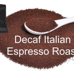 Corim Decaffeinated Italian Espresso Roast Ground Coffee 1.5 oz Portion Pack, Case Of 24