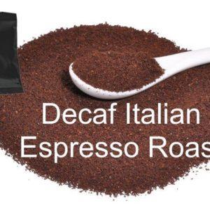Corim Decaffeinated Italian Espresso Roast Ground Coffee 1.75 oz Portion Pack, Case Of 24