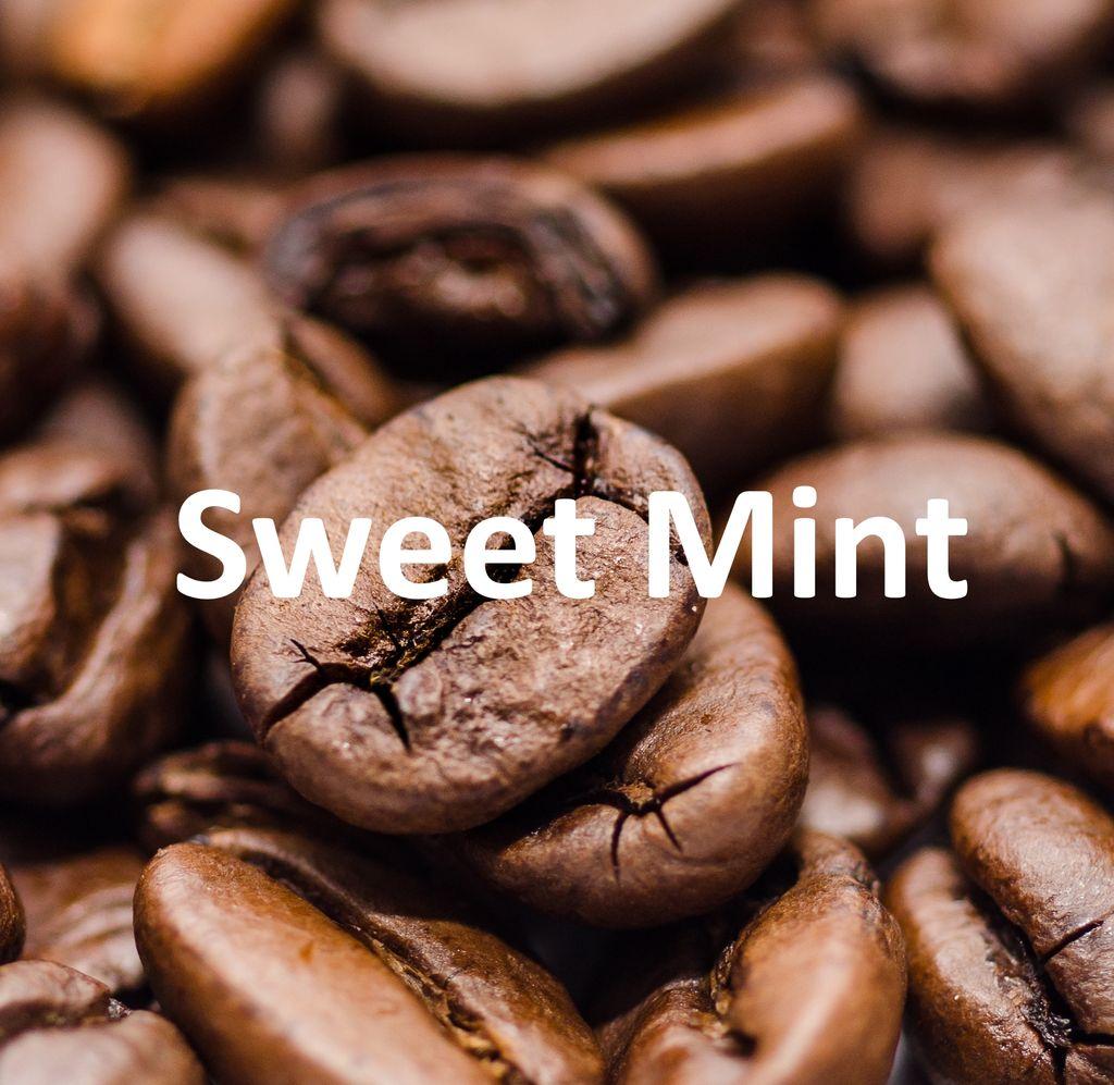 Corim Sweet Mint Flavored Whole Bean Coffee, 5 lb Bag