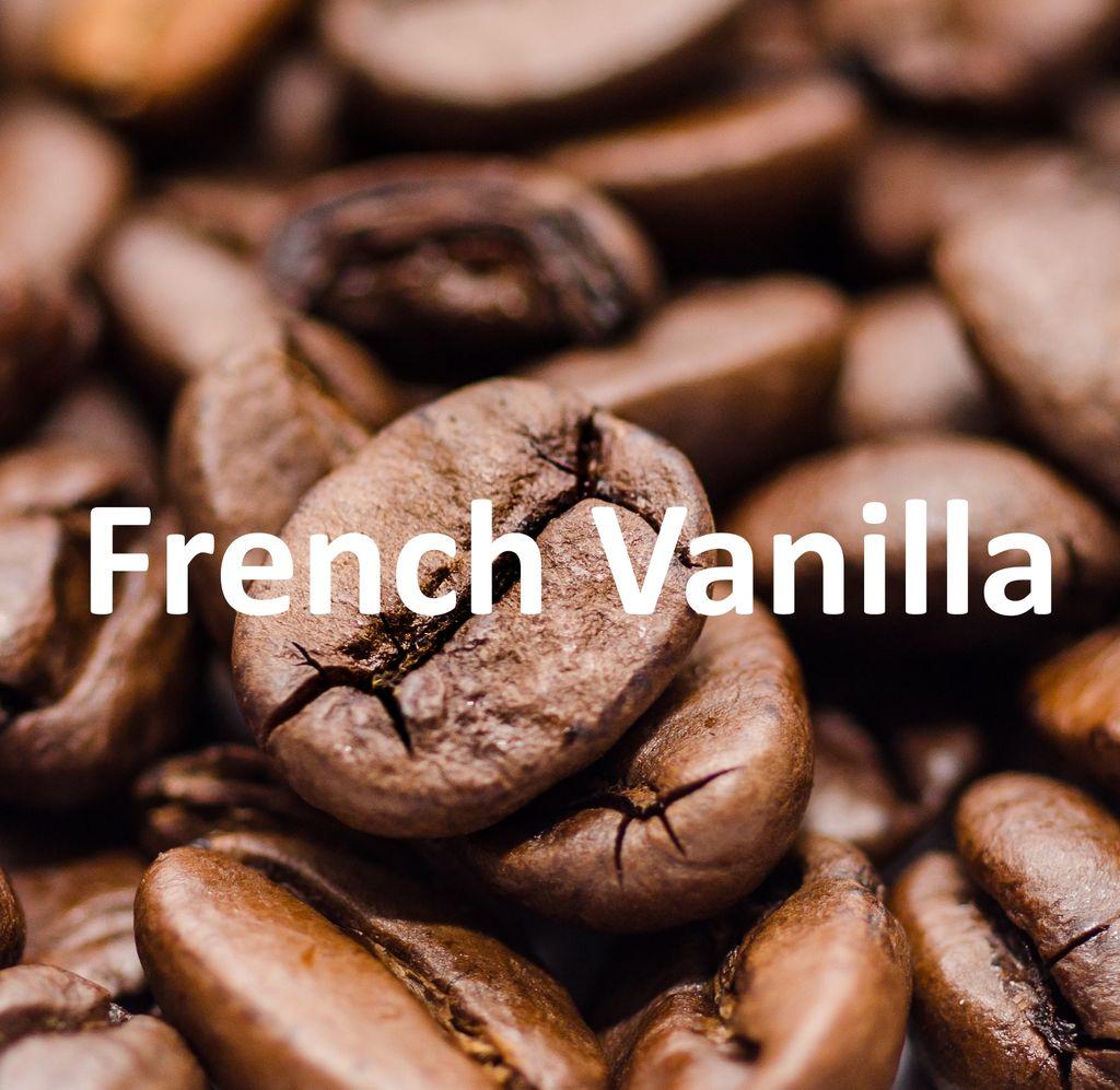 Corim French Vanilla Flavored Whole Bean Coffee, 1 lb Bag