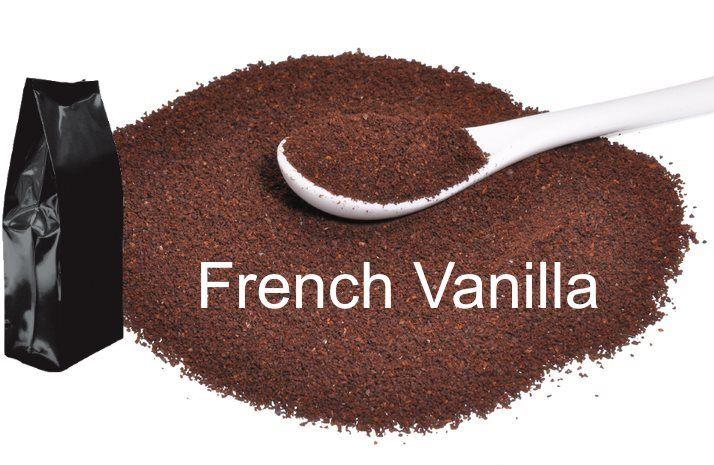 Corim French Vanilla Flavored Ground Coffee, 1 lb Bag