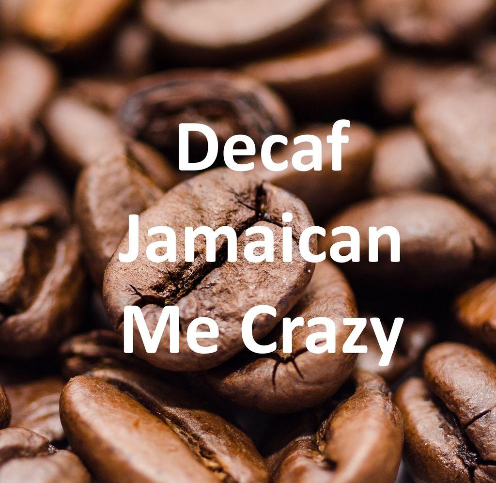 Corim Decaffeinated Jamaican Me Crazy Flavored Whole Bean Coffee, 1 lb Bag
