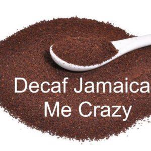 Corim Decaffeinated Jamaican Me Crazy Flavored Ground Coffee, 1 lb Bag