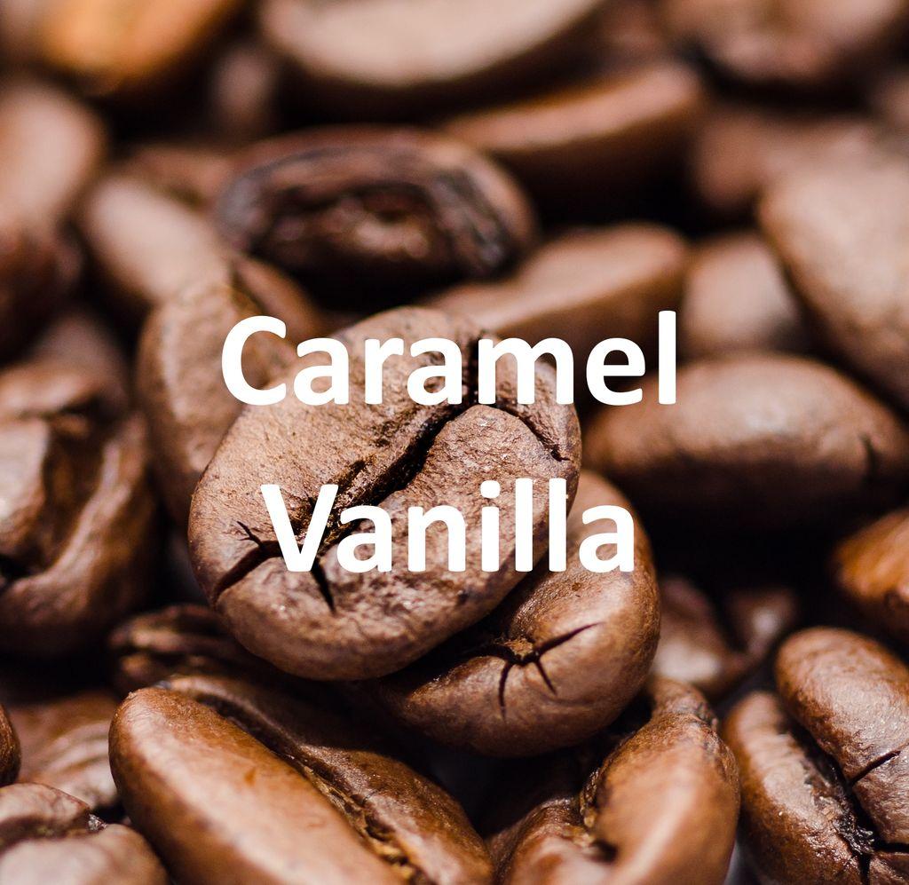 Corim Caramel Vanilla Flavored Whole Bean Coffee, 5 lb Bag